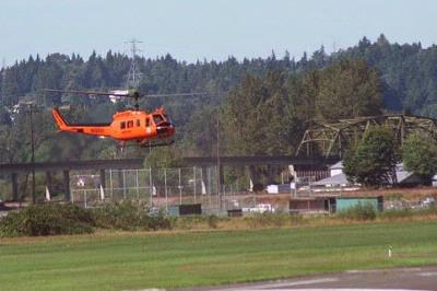Radiation levels mapped in Puget Sound by helicopter